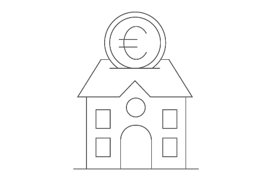 Infografik: Außen- und Innenfinanzierung