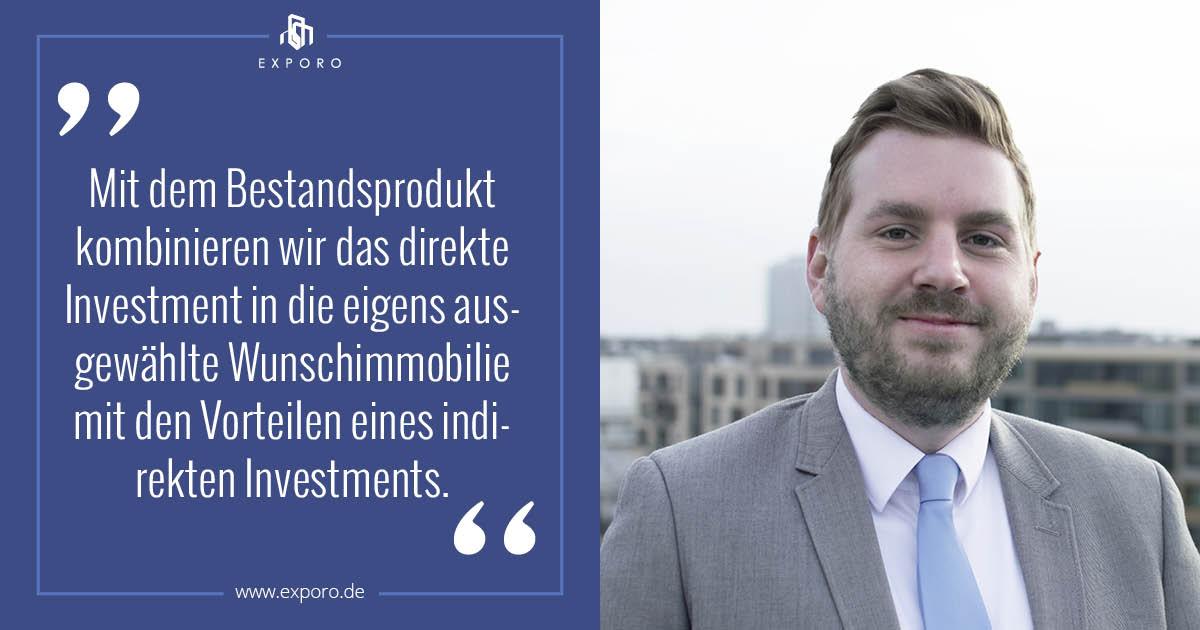 Thomas Stadler - Zitat - Exporo