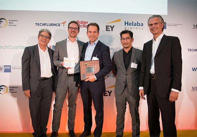 Exporo mit Sonderpreis bei den Fintech Germany Awards ausgezeichnet